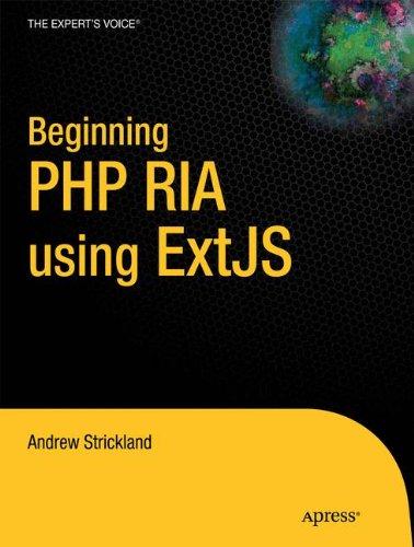 9781430233091: Beginning PHP RIA using ExtJS