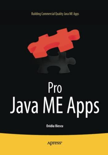 9781430233275: Pro Java ME Apps: Building Commercial Quality Java ME Apps