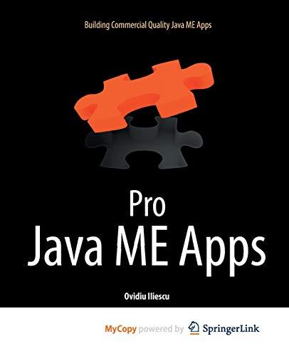 9781430233299: Pro Java ME Apps: Building Commercial Quality Java ME Apps