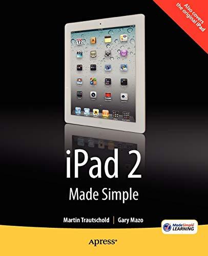 9781430234975: iPad 2 Made Simple