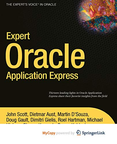 9781430235149: Expert Oracle Application Express
