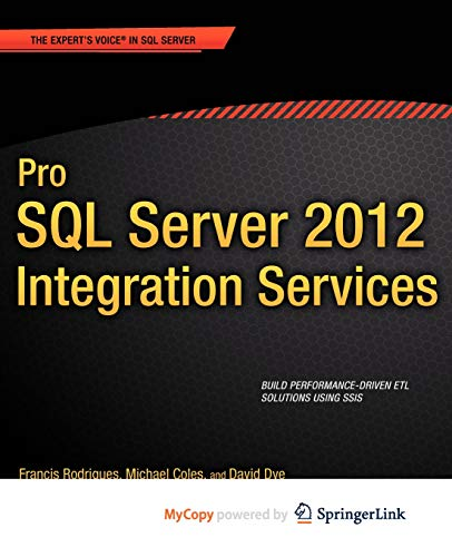9781430236948: Pro SQL Server 2012 Integration Services