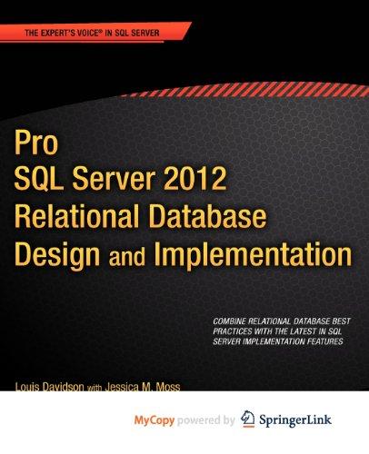 9781430236979: Pro SQL Server 2012 Relational Database Design and Implementation