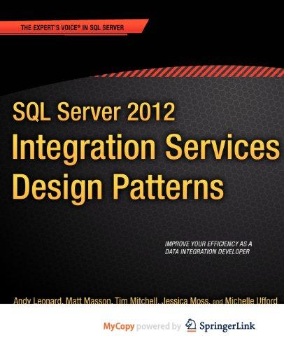9781430237730: SQL Server 2012 Integration Services Design Patterns