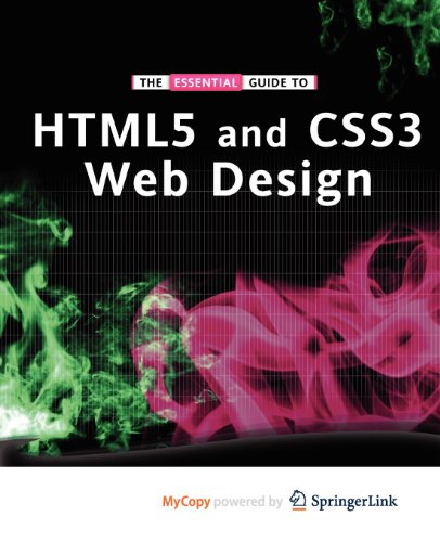 9781430237884: The Essential Guide to HTML5 and CSS3 Web Design