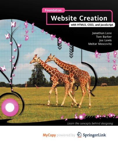 9781430237914: Foundation Website Creation with HTML5, CSS3, and JavaScript