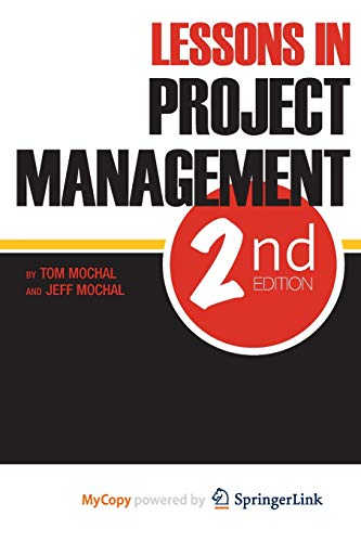 9781430238362: Lessons in Project Management
