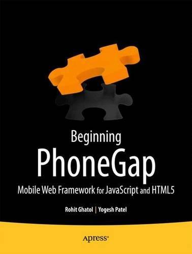 9781430239048: Beginning Phonegap: Mobile Web Framework for JavaScript and Html5