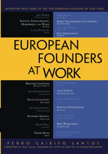 9781430239062: European Founders at Work