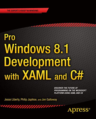 9781430240471: Pro Windows 8.1 Development with XAML and C# (Professional Apress)