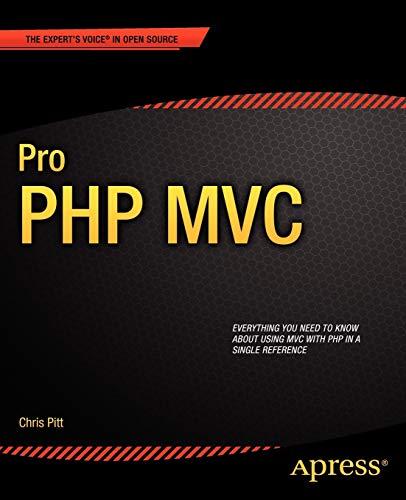 9781430241645: Pro PHP MVC (Professional Apress)