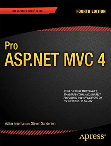 9781430242369: Pro ASP.NET MVC 4