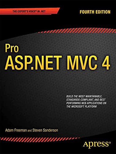 9781430242376: Pro ASP.Net MVC 4