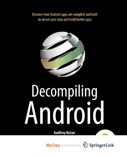 9781430242505: Decompiling Android