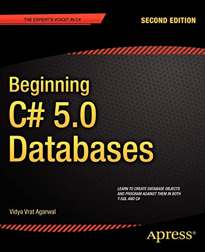 9781430242604: Beginning C# 5.0 Databases (Expert's Voice in C#)