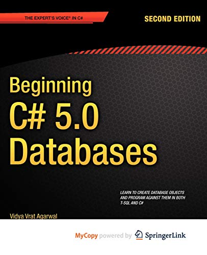 9781430242628: Beginning C# 5.0 Databases