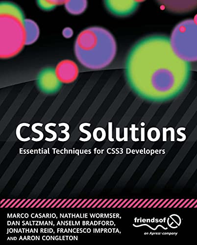 9781430243366: Css3 Solutions: Essential Techniques for Css3 Developers