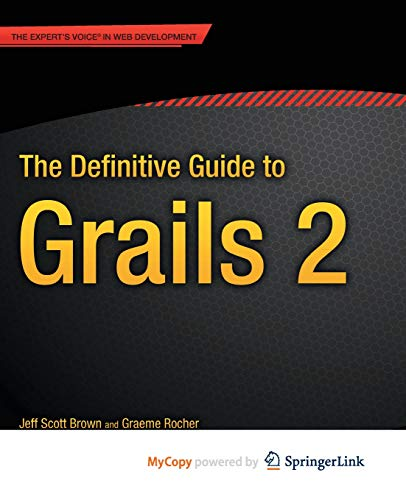 9781430243793: The Definitive Guide to Grails 2