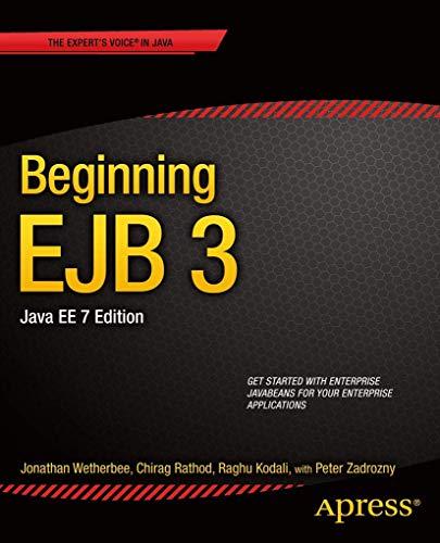 9781430246923: Beginning EJB 3, Java EE, 7th Edition