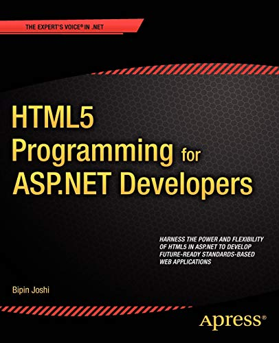 9781430247197: HTML5 Programming for ASP.NET Developers (Expert's Voice in .NET)