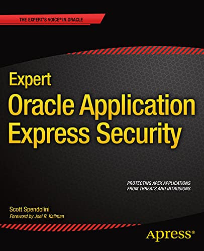 9781430247326: Expert Oracle Application Express Security