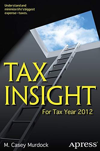 9781430247388: Tax Insight