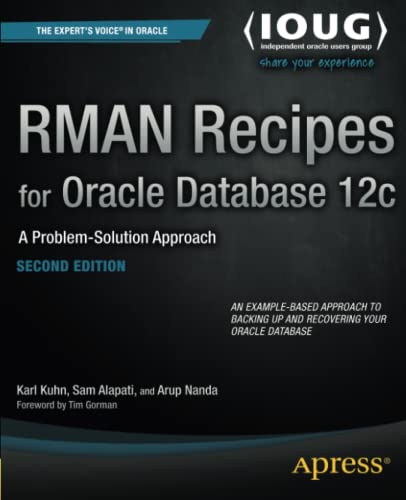 9781430248361: RMAN Recipes for Oracle Database 12c: A Problem-Solution Approach (Recipes Apress)
