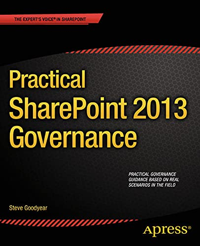 9781430248880: Practical Sharepoint 2013 Governance