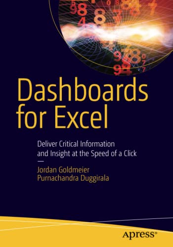 9781430249443: Dashboards for Excel