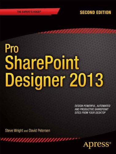 9781430249740: Pro SharePoint Designer 2013 (Professional Apress)