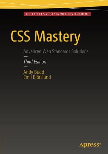 9781430258636: CSS Mastery