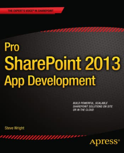 9781430258841: Pro SharePoint 2013 App Development (Professional Apress)