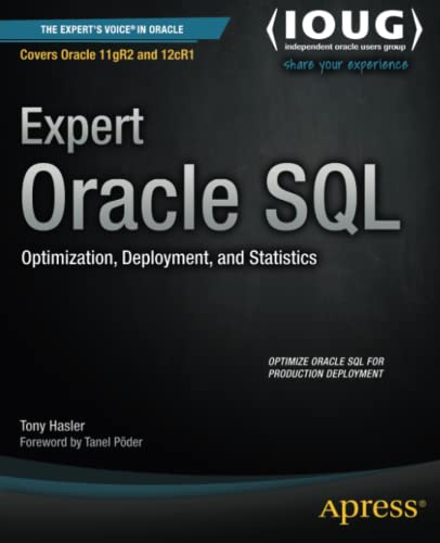 Expert Oracle SQL: Tony Hasler