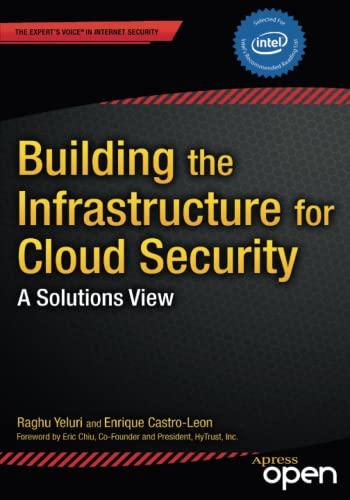 9781430261452: Building the Infrastructure for Cloud Security: A Solutions View (Expert's Voice in Internet Security)