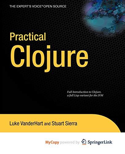 9781430269694: Practical Clojure