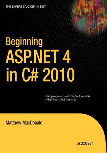 9781430269755: Beginning ASP.NET 4 in C# 2010