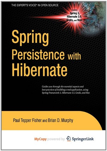 9781430269830: Spring Persistence with Hibernate