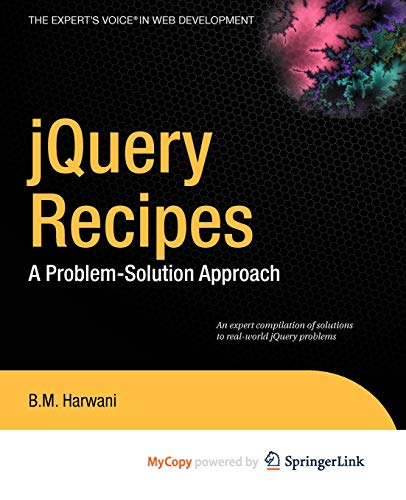 9781430269939: jQuery Recipes: A Problem-Solution Approach