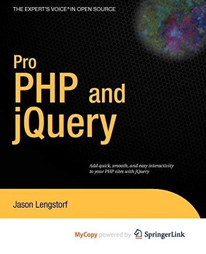 9781430270324: Pro PHP and jQuery