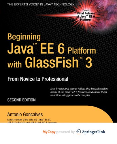 9781430270546: Beginning Java EE 6 with GlassFish 3