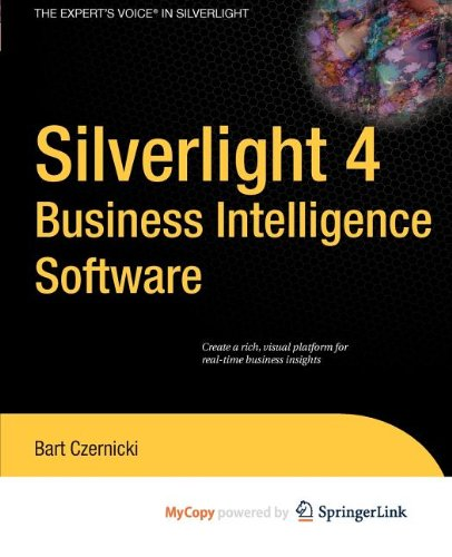 9781430273080: Silverlight 4 Business Intelligence Software