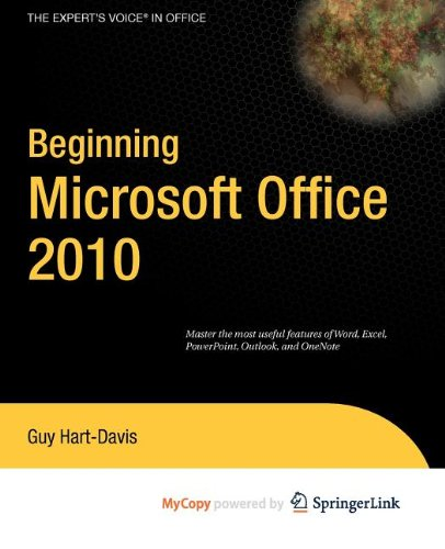 9781430273103: Beginning Microsoft Office 2010