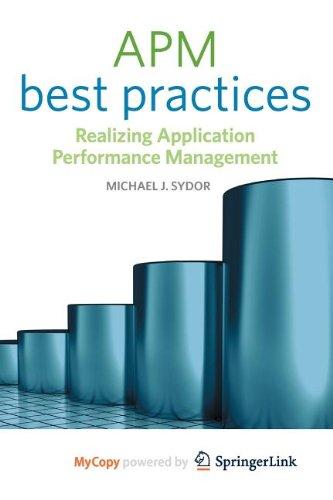 9781430273240: APM Best Practices: Realizing Application Performance Management