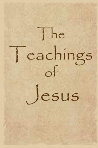 9781430303916: The Teachings of Jesus