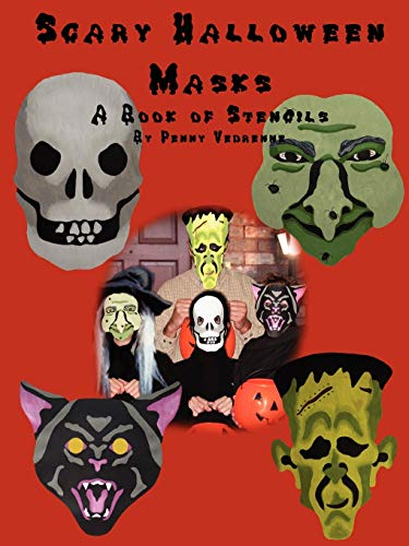 9781430313359: Scary Halloween Masks: A Book of Stencils