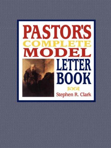 9781430315971: Pastor's Complete Model Letter Book