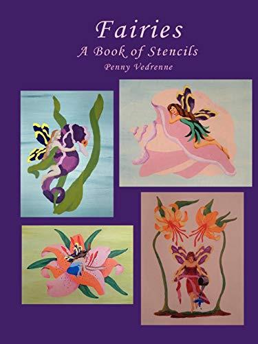 9781430318651: Fairies: A Book of Stencils