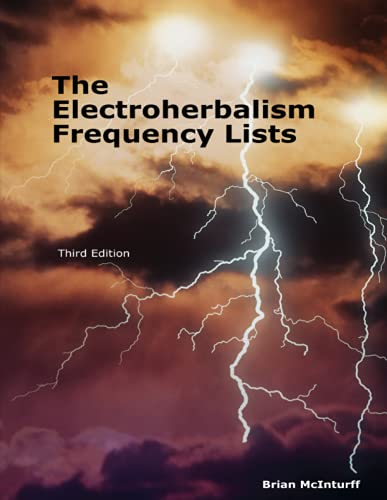 The Electroherbalism Frequency Lists: Brian McInturff