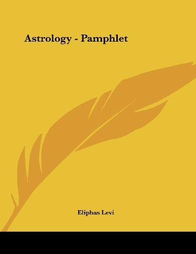 9781430406624: Astrology - Pamphlet