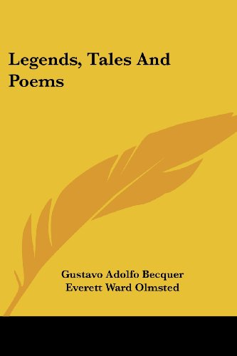 9781430450061: Legends, Tales And Poems